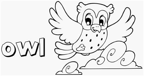 owl coloring pages coloringsuitecom
