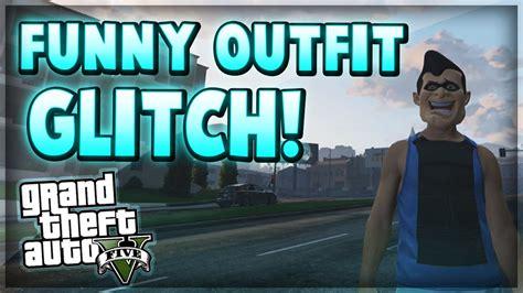 GTA 5 Online Glitches - Funny u0026quot;Baby Bibu0026quot; Clothing Glitch ...