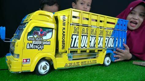 menggambar truk anti gosip livery truck anti gosip