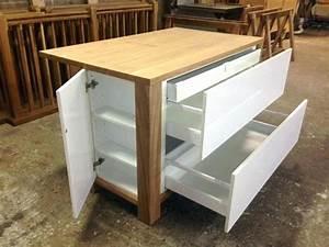 Meuble Ilot Cuisine : meuble cuisine ilot centrale argileo ~ Teatrodelosmanantiales.com Idées de Décoration
