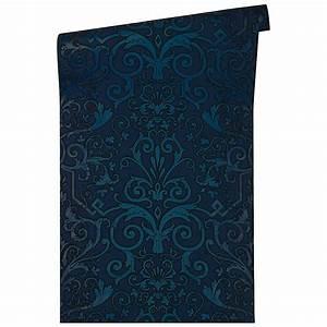 Wall Art Tapete : versace wallpaper tapete herald blau wall ~ Eleganceandgraceweddings.com Haus und Dekorationen