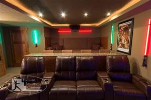 Basement Theater Seating - Traditional - Basement - Minneapolis