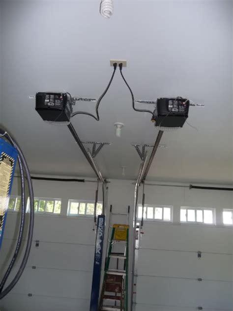 low ceiling garage door opener car lift and ceiling height corvetteforum chevrolet 9067
