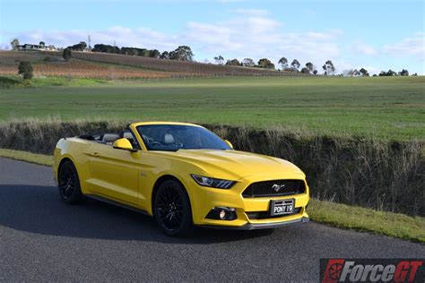 2016 Ford Mustang V6 Review by 2016 Ford Mustang Gt Convertible Review