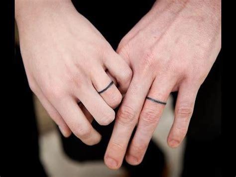 wedding ring tattoo ideas youtube