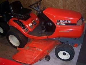 Kubota Tg1860g 18hp 54 U0026 39  U0026 39  Cut Riding Mower