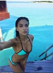 Shanina Shaik Flaunts Her Bikini Body In Sultry Throwback