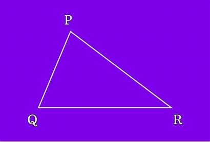 Triangle Vertex Vertices Determine Sides Point Called