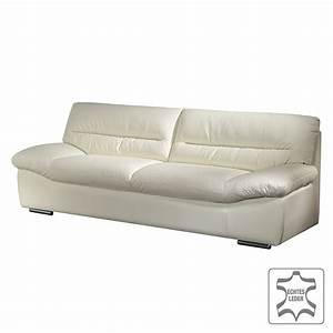 Couch 3 Sitzer Günstig : sofa doug 3 sitzer echtleder wei cotta g nstig online kaufen ~ Bigdaddyawards.com Haus und Dekorationen