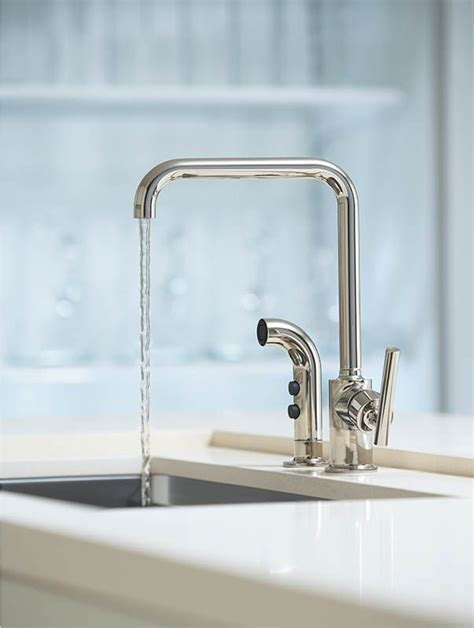 faucet com k 7508 bl in matte black by kohler