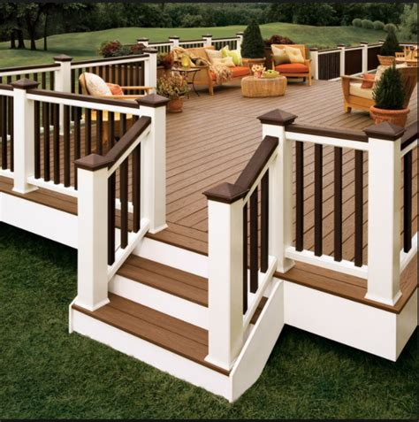 plant stand makeover paint deck railings brown  hide