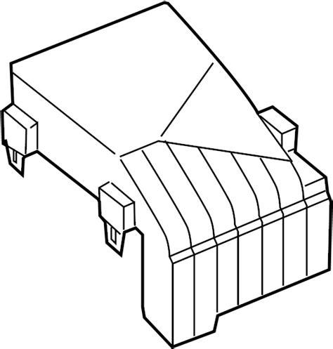 volkswagen passat wagon fuse box cover 1k0937132f