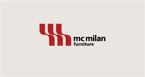 mc milan furniture logo design  design inspiration