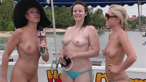 Naked News Travels Jamaica At Mr Skin