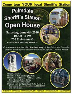 Open House: Palmdale Station - Sheriffs' Relief Association