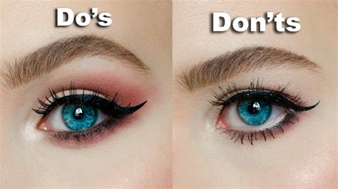 dos donts  hooded downturned eyes maria alexandra