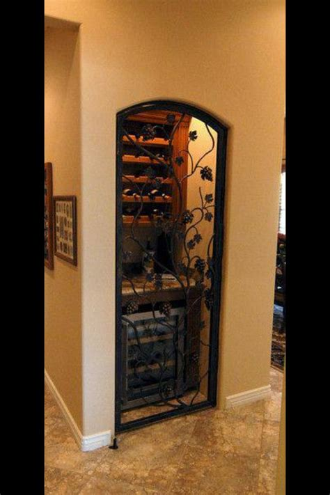 turn a coat closet or small pantry into a wine cellar