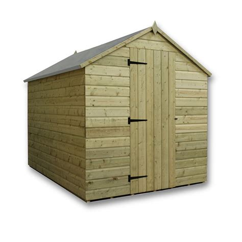 Tongue And Groove Boards For Sheds by 9 X 6 Pressure Treated Tongue And Groove Apex Shed With 4
