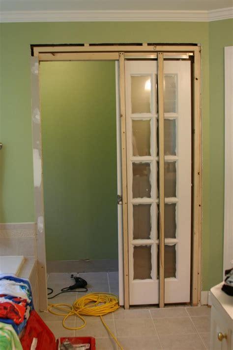 show    pocket doors  bathrooms