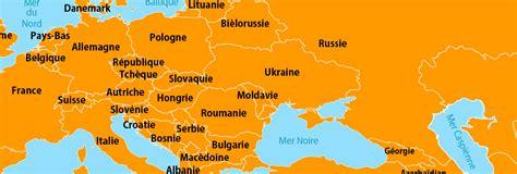 Carte Capitales Europe De L Est by Vols Europe De L Est Billets D Avion Europe De L Est Avec