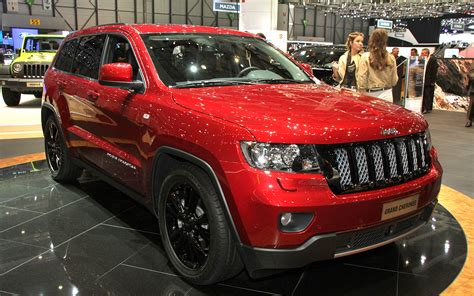 sport jeep grand cherokee jeep grand cherokee production intent sports concept front