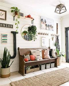 31, Cozy, And, Inviting, Farmhouse, Entryway, Decorating, Ideas