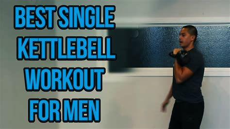 kettlebell workout single