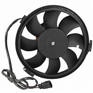 New Auxiliary Electric Radiator Cooling Fan Fits Vw Passat