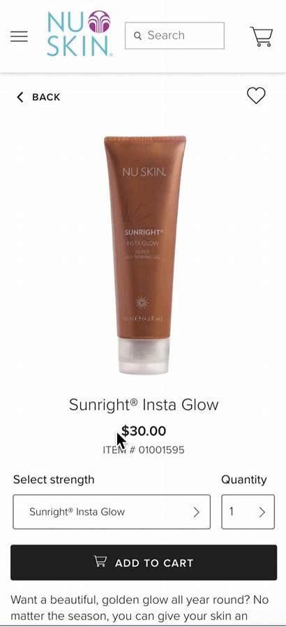 Glow Insta Wholesale Tanning Lotion Distributor Gel