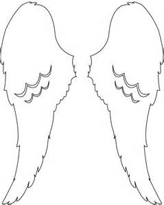 Angel Wings Design Silhouette | Free vector silhouettes