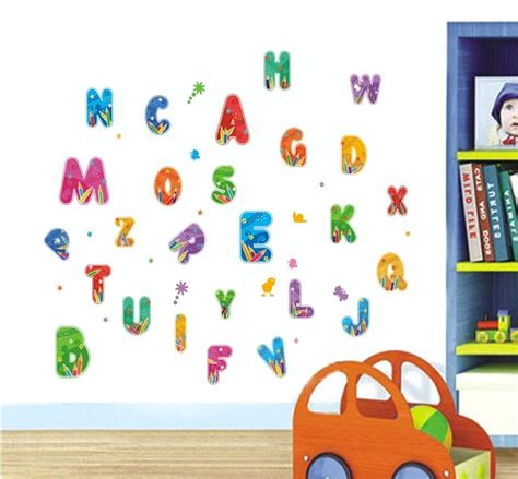 stickers muraux lettres alphabet 9 colorful fonts images colorful alphabet letters fonts alphabet letters wall sticker