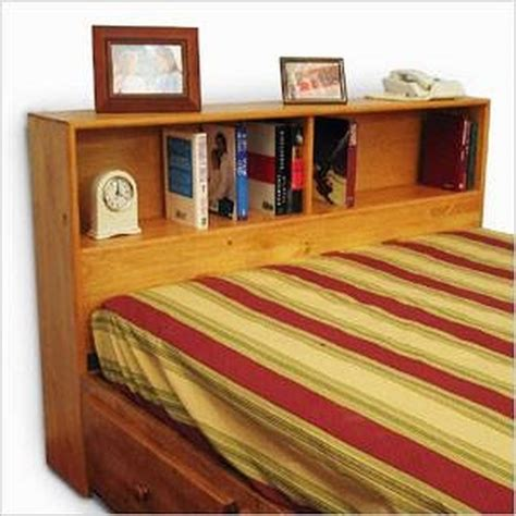 How To Make A King Size Headboard by How To Build A King Size Bookcase Headboard Hunker
