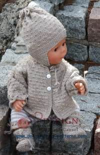 Free Knitting Patterns Dolls Clothes