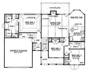 one story country house plans one story country house plans smalltowndjs