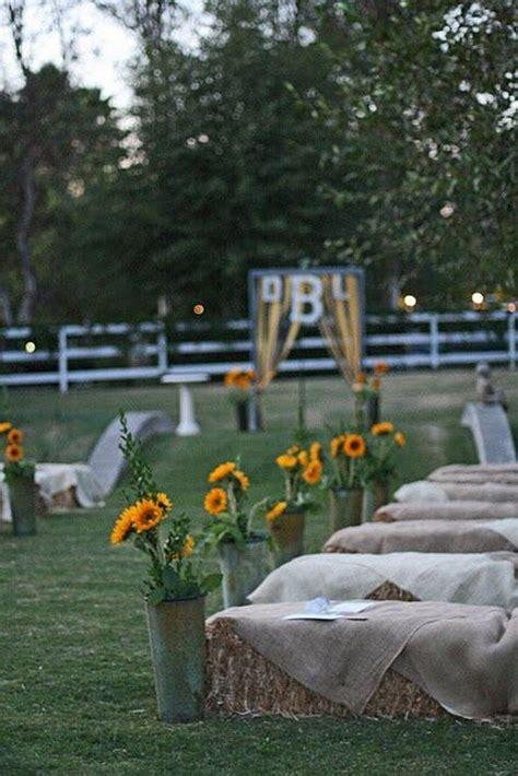 bold country sunflower wedding ideas country wedding