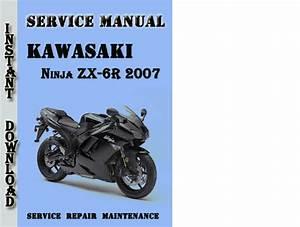 Kawasaki Ninja Zx-6r 2007 Service Repair Manual