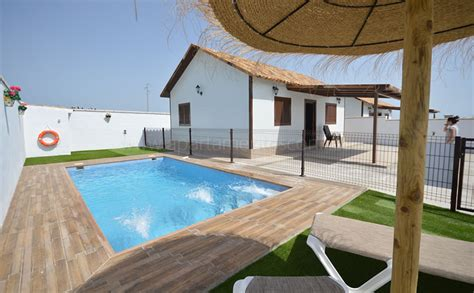 casas con piscina en conil casa de alquiler en conil con piscina privada
