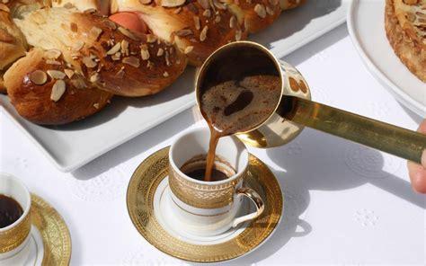 Greek Coffee (ellinikos Kafes) Recipe Barista Coffee Dolce Gusto French With Condensed Milk Press How To Use India Menu House Grand Island Ne Phrases Lick Vending Machine
