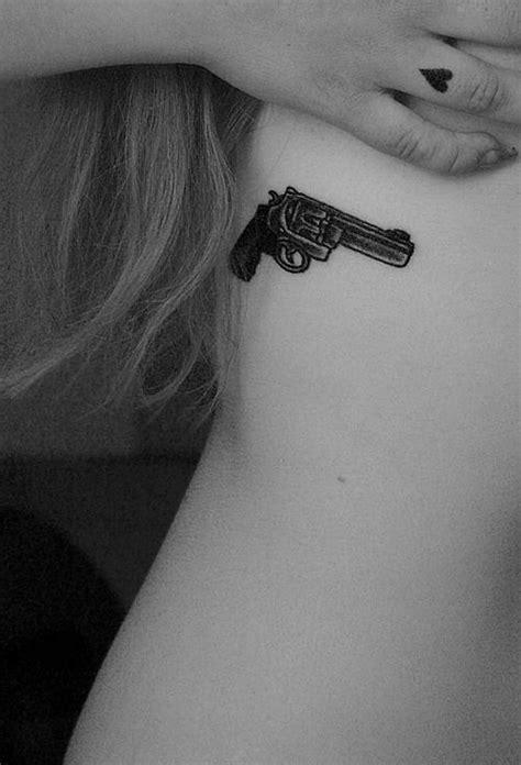 137 Fantastic Gun Tattoos That Hit Their Mark   Tattoos