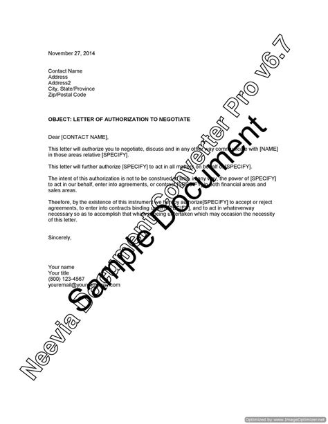 letter  authorization  negotiate lawyercomau