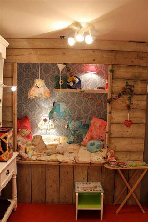 chambre en bleu le plus beau lit cabane pour votre enfant