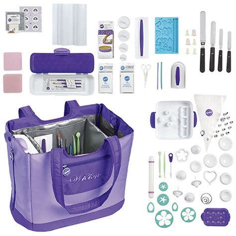 ultimate decorating tote set wilton cake decorating kit