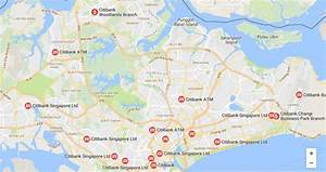 Citibank Atms In Singapore  Atm Locator To Find Citibank