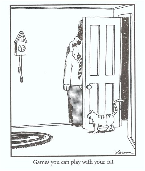 The Far Side What Dogs Hear What Cats Hear