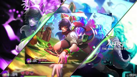 Ahri Animated Wallpaper - arcade ahri wallpaper 1920x1080 by beski by beszky on