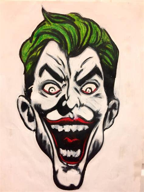 joker drawing  cresencio cruz saatchi art