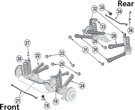 Jeep Cherokee Front Suspension Parts Wiring Diagram