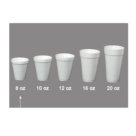 Nutmeg State CoffeeFoam Cups 8oz