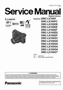 Panasonic Lumix Dmc Lx100 Service Manual  U0026 Troubleshooting