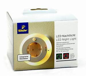 Nachtlicht Mit Steckdose : tcm tchibo led nachtlicht mit bewegungsmelder integrierte ~ Watch28wear.com Haus und Dekorationen